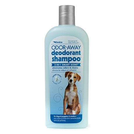 Petkin Away 2-IN-1 Smart Scent Dog Shampoo - 16 fl.oz.
