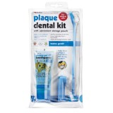 Petkin Plaque Dental Kit for Dogs and Cats