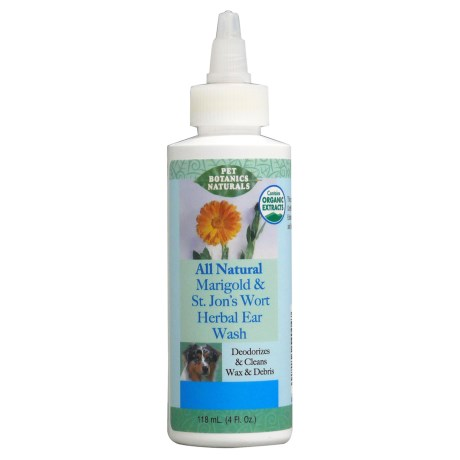 Pet Botanics Natural Ear Wash - 4 fl.oz.