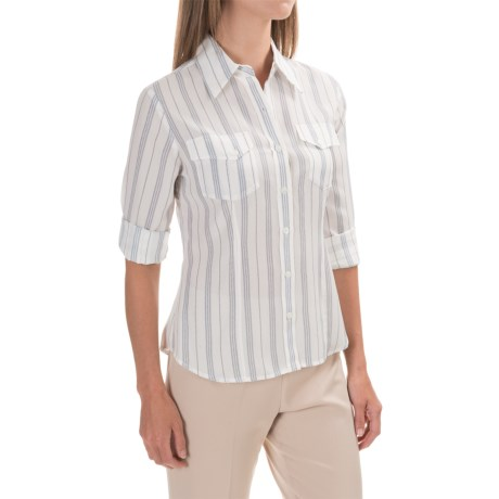 Pendleton Chevron-Stripe Shirt - Button Up, Long Sleeve (For Women)