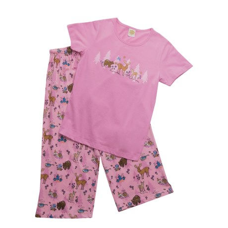 Toast & Jammies Northern Bound Pajamas - Missy Cut, Short Sleeve (For Women)