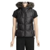 Weatherproof Garment Company Iridescent Vest - Down, Faux Fur (For Women)