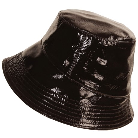 Helen Kaminski Tilba Hat - Milled Patent Leather (For Women)