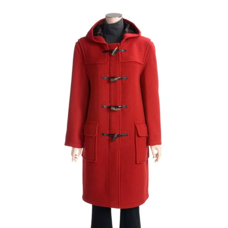 John Partridge Classic Duffle Coat - Virgin Wool, Tall (For Women)