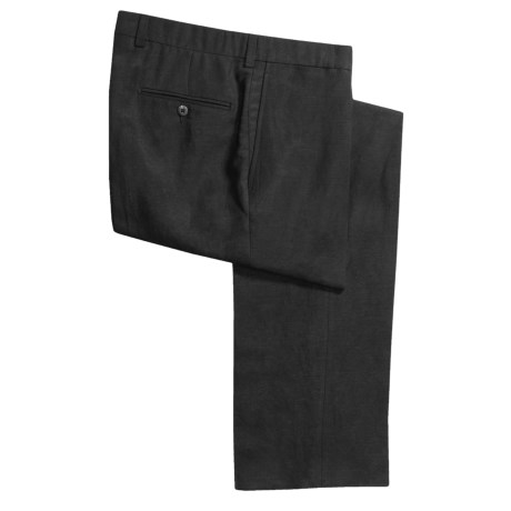 Riviera Sting Pants - Linen-TENCEL®, Flat Front (For Men)