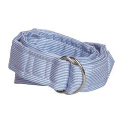 Nantucket Striped Silk Belt - D-Ring (For Women)