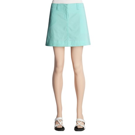 Nantucket Brand Nantucket Brushed Cotton Twill Skirt (For Women)