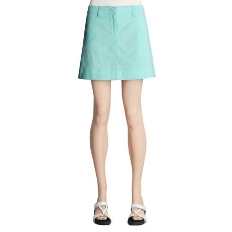 Nantucket Brushed Cotton Twill Skirt (For Women)