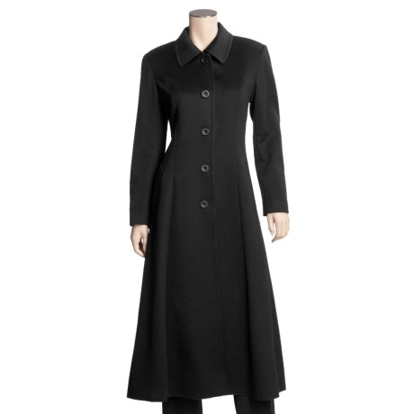 Jonathan Michael 100% Cashmere Coat - Single-Breasted (For Women)