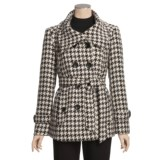 Jonathan Michael Double-Breasted Coat - Belted (For Women)