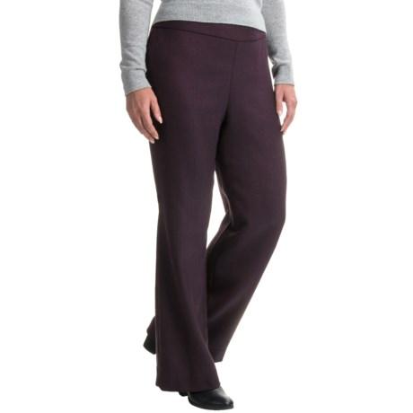 Pendleton Herringbone Pants - Virgin Wool (For Women)