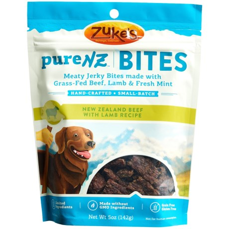 Zuke's PureNZ Bites Beef with Lamb Jerky Dog Treats - 5 oz.