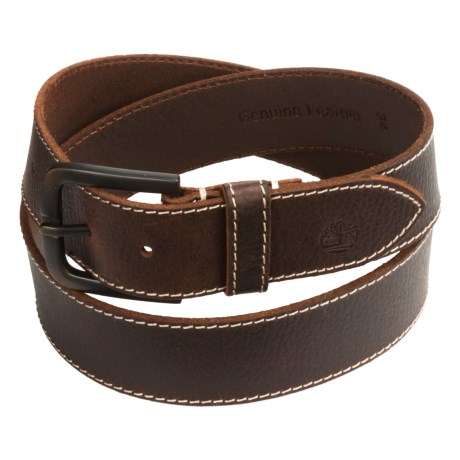 Timberland Oily Milled Leather Belt - 40mm (For Men)