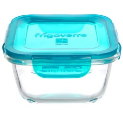 Bormioli Rocco Frigoverre Evolution Square Glass Food Storage Container - 25.25 oz.