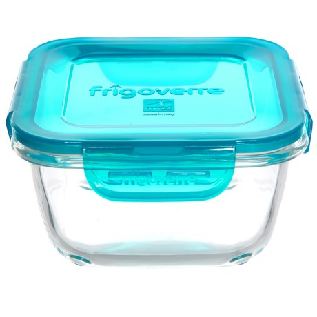 Bormioli Rocco Frigoverre Evolution Square Glass Food Storage Container - 25.25 oz.