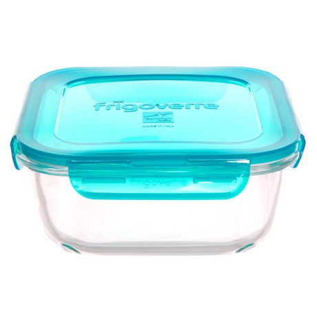 Bormioli Rocco Frigoverre Evolution Square Glass Food Storage Container - 47.25 fl.oz.