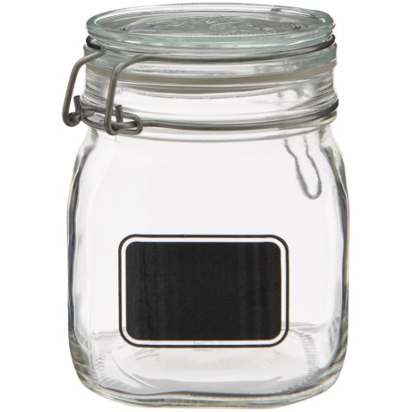 Bormioli Rocco Fido Square Storage Jar - 25 oz.