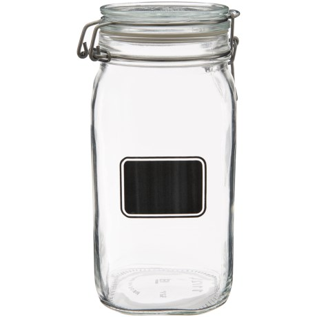 Bormioli Rocco Fido Square Storage Jar - 50 oz.