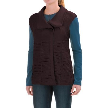 Woolrich Poppy Ridge Sweater Vest (For Women)