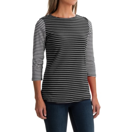iMove Imove Stripe Shirt - 3/4 Sleeve (For Women)