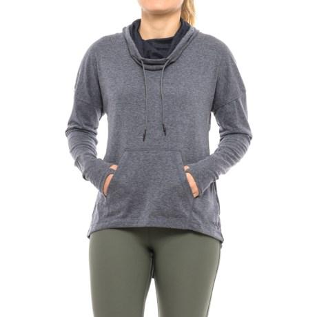 Mondetta Posit Shirt - Cowl Neck, Long Sleeve (For Women)