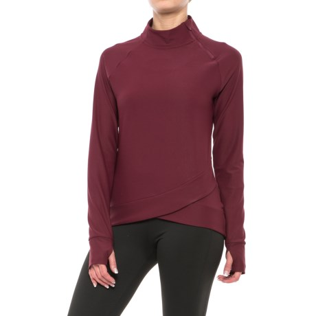 Mondetta Doozie Shirt - Zip Neck, Long Sleeve (For Women)