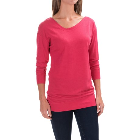 Black Diamond Equipment Fine Jade Tunic Shirt - Merino Wool-Modal, Long Sleeve (For Women)