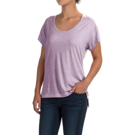Black Diamond Equipment Ancient Art T-Shirt - Merino Wool, Short Sleeve (For Women)
