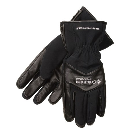 Columbia Sportswear Code 9 Gloves - Soft Shell (For Women)