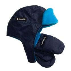 Columbia Sportswear Ear Flap Hat and Mitten Set (For Toddlers)
