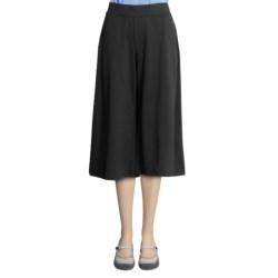 Isis Metro Gaucho Pants - Jersey Knit, Elastic Pull-On Style (For Women)