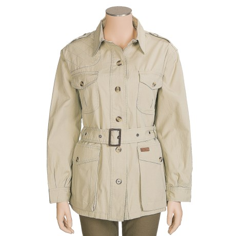 Outback Trading Excursion Jacket - Adjustable Belt (For Women)