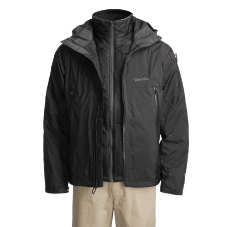 Columbia Sportswear Glacier-to-Glade II Parka - Waterproof 3-in-1, Removable Liner (For Men)