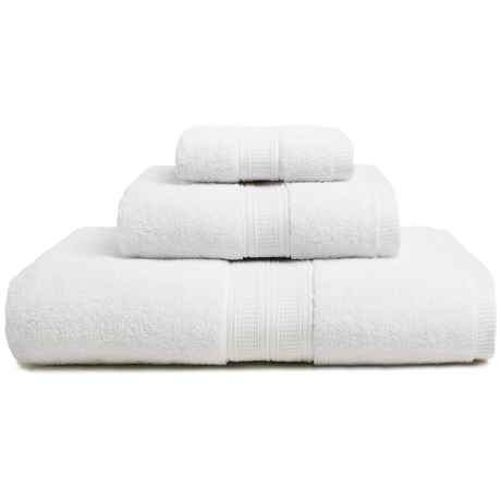 Home Fashions Chapelle Collection Zero-Twist Bath Towel