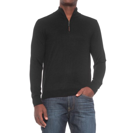 For the Republic Zip Neck Sweater (For Men)