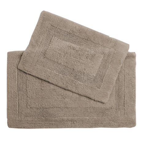 Devgiri Castile Home Textiles Malta Bath Rugs - 2-Pack, Egyptian Cotton