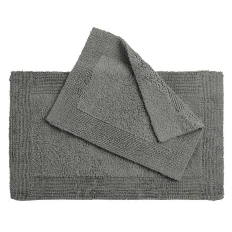Devgiri Oasis Corsica Cotton Bath Rugs - 2-Pack, Reversible