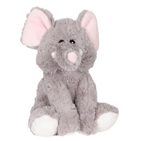KellyPet Poseable Elephant Squeaker Dog Toy