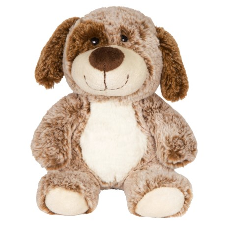 Wags and Purrs Two-Tone Puppy Squeaker Dog Toy