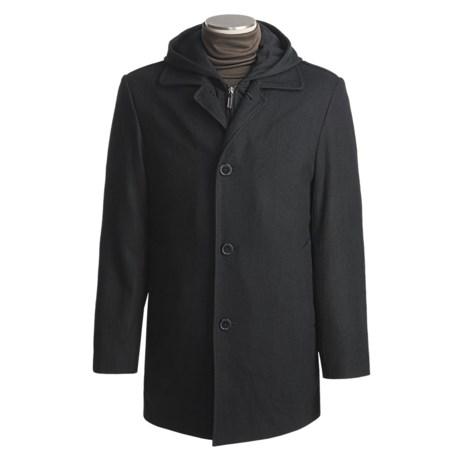Jospeh Abboud Avalon Car Coat - Wool, Hooded (For Men)