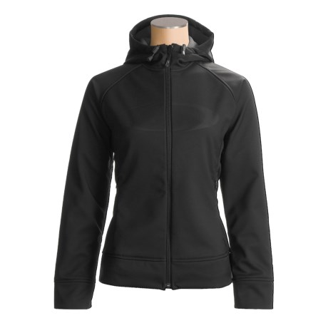 Salomon 900 Hoodie Jacket - Soft Shell, Full Zip (For Women)
