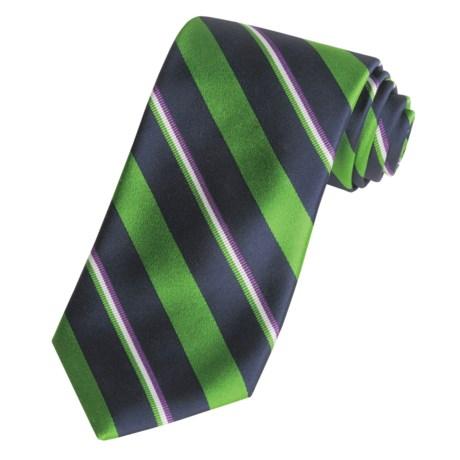 Altea Fancy Stripe Tie - Silk (For Men)
