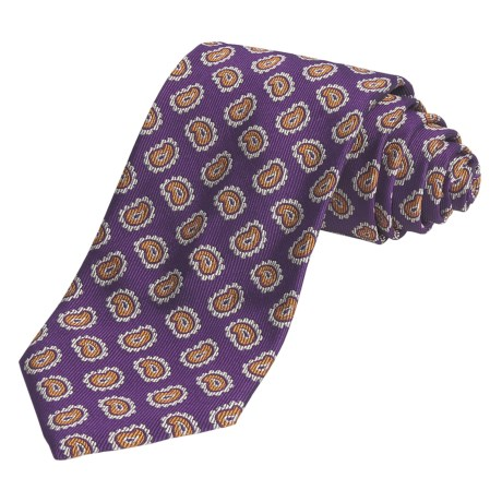 Altea Smally Paisely Tie - Silk (For Men)