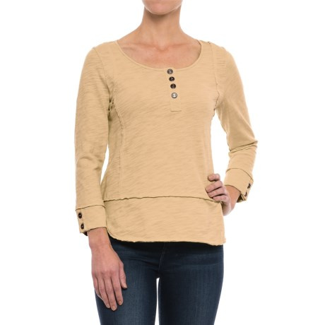 Neon Buddha Sadie Henley Shirt - Long Sleeve (For Women)
