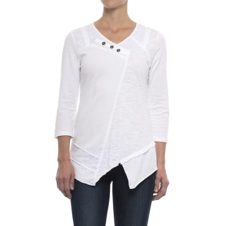 Neon Buddha Dalton Tunic Shirt - 3/4 Sleeve (For Women)