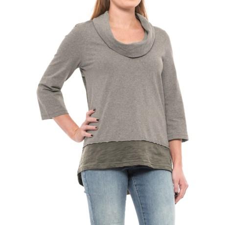 Neon Buddha Surf Tunic Shirt - Elbow Sleeve (For Women)