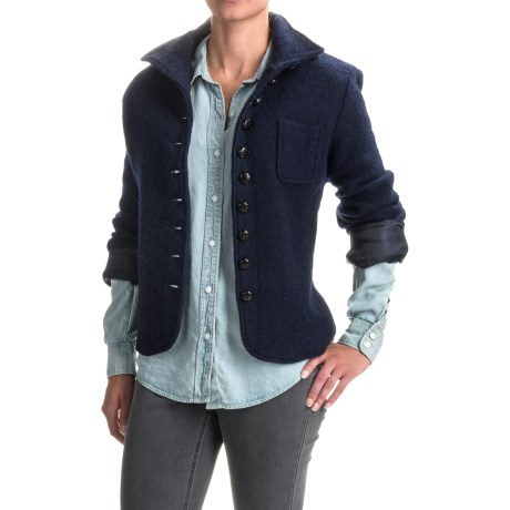 Venario Janet Boiled Wool Jacket (For Women)