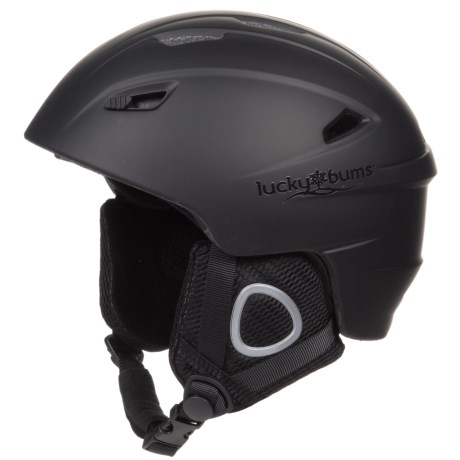 Lucky Bums Powder Series In-Mold Ski Helmet (For Kids)