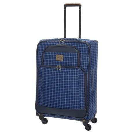 """Weatherproof Vintage 48 Collection Expandable Spinner Carry-On Suitcase - 19"""""""