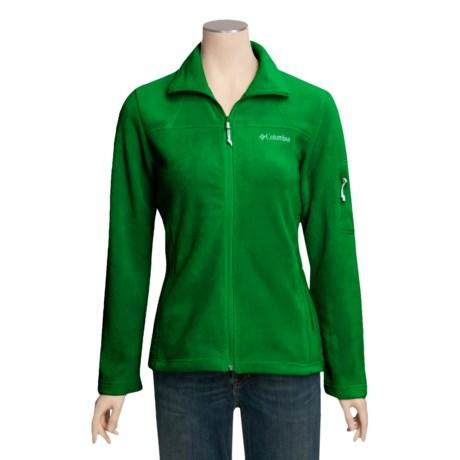 Columbia Sportswear Fast Trek Jacket - Fleece (For Women)